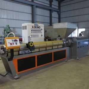 plastic recycling machine, REKNO