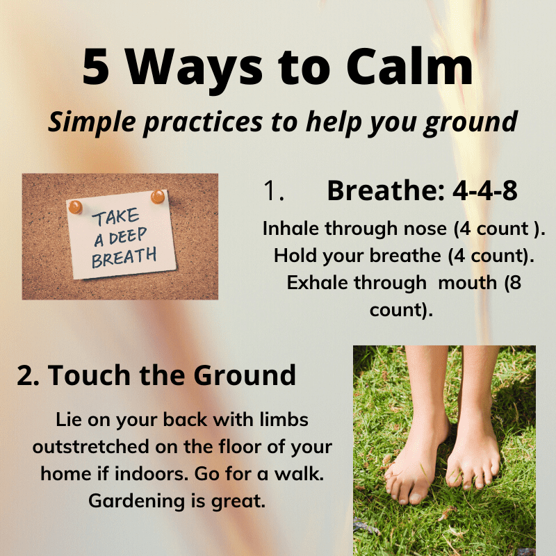 5 Ways to Calm
