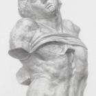奴隷(石膏像)