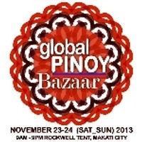 Global Pinoy Bazaar, Rockwell Tent, Makati, Nov. 23-24, 2013
