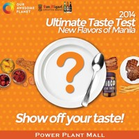 Ultimate Taste Test, Rockwell Tent, Sept. 27, 2014