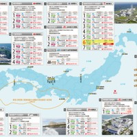 The condition of  all nuclear power plants in Japan after the 2011 earthquake