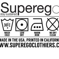 Superego Clothing tag
