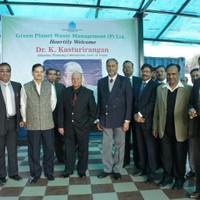 Visit by Dr. K. Kasturirangan, Member , Planning Commission, Govt. of India on December 9, 2014