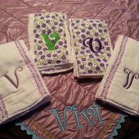 Baby Burb Cloths by Mbelleish