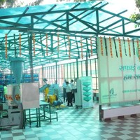 Front enterance of the Waste Treatment Facility at New Moti Bagh