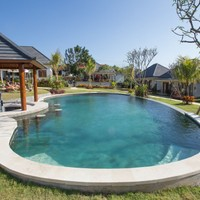 Big open swimming pool
