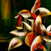 Flores llorando