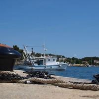 Der Hafen von Porec