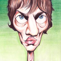 Richard Ashcroft  The Verve Caricature