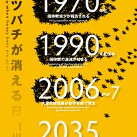 インフォグラフィック「ミツバチが消える日」