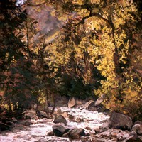 Little Cottonwood Canyon in May - sold