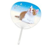 名入れポリうちわ ねこちゃん(猫)