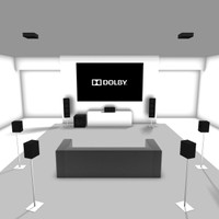 Dolby Atmos® using 9 channels