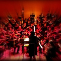 Star Wars Concert with The Michigan Pops Orchestra - Conducting with a Lightsaber as Darth Vader