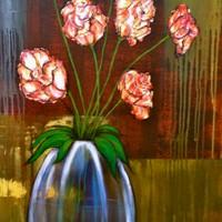 Flores Plateadas