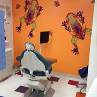 Amphibian themed room at KidsFirst Dental in Albuquerque, NM