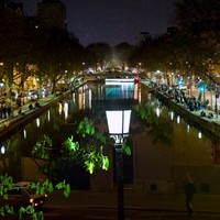 Le Lampadaire - Canal Saint Martin #02