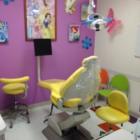 Disney Princess themed room at KidsFirst Dental in Albuquerque. NM