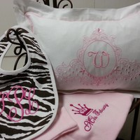 Baby Bibs and Pillows