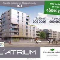 Perspective Habitat - L'Atrium / - Affichage 4x3