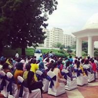 Awareness workshop for Domestic Helps on the importance of waste segregation being conducted on August 30, 2014 at New Moti Bagh, New Delhi