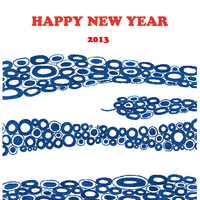 2013 Edition New Year's Card