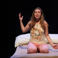 "Celeste Rose as Juliet in ""Romeo and Juliet"" at HSRT"
