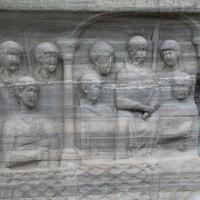 Sarcaphagus at Hagia Sophia, Sultanahmet