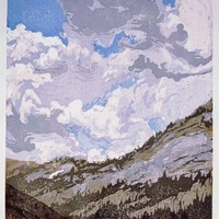 Canyon With Summer Clouds - $350