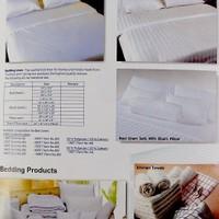Постельные принадлежности с одеялом или покрывалом