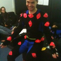 having fun in the mocap suite