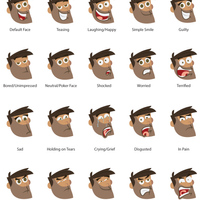 Main Character Expression Exploration