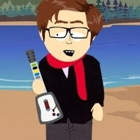 As a South Park character