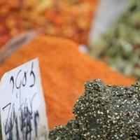 Spices at Carmel Market