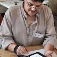 Dessin sur iPad - Entretiens de Sologne 2012