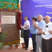 Inauguration of Plastic Waste to Fuel plant by Dr. Sudhir Krishna, Sect., MoUD, GoI. on May 20, 2014