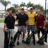 Speedgolf LA's first 18, played on the Navy course in Seal Beach CA August 7, 2014