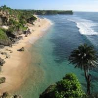 Balangan beach. About 20 mins away.