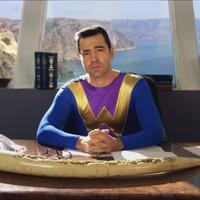 Ron Livingston as Captain Wonder