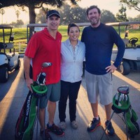 Thank you to Joyce Shelton, GM of Lakewood CC for supporting Speedgolf LA and squeezing us in early mornings for a quick 18 around this great track! — August 26th, 2014 at Lakewood Country Club