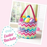 Personalized Easter baskets for sale by Mbelleish