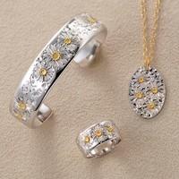 ■  デイジー  バングル / ネックレス / リング  ■ daisy bangle / necklace / ring