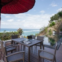 Ocean view villas for rent in South Bali