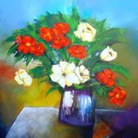 Flores en Mesa