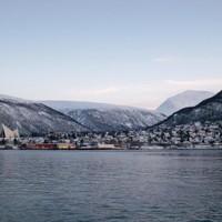 Nordic noon twilight - Tromsø, Norway - 2012