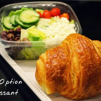 Greek Salad & Croissant