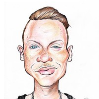 Macklemore  Caricature