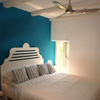 Schlafzimmer mit Queen Size Bed (160x200)