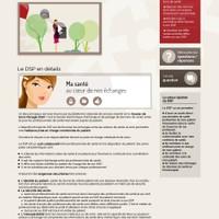 Site de l'agence eSanté Luxembourg